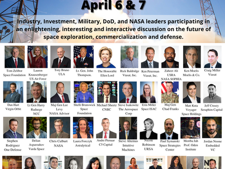 America's Future Series Hosts Internationally Renowned Leaders for its 2021 Space Innovation Summit