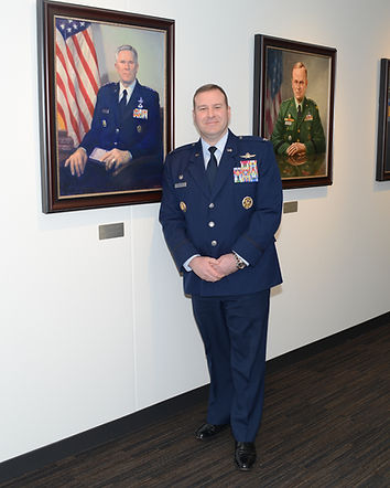 Brig. Gen Chad Raduege and Gen Harry Rad