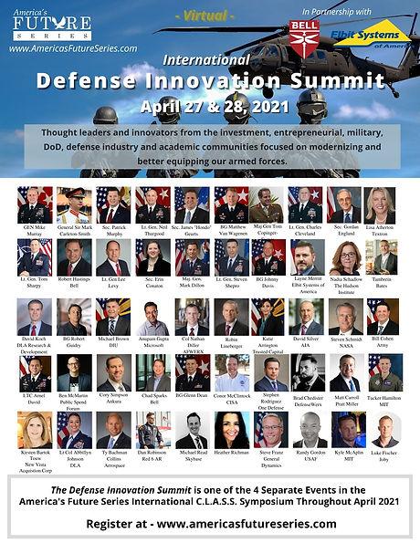 April 27 & 28 Defense Innovation Summit
