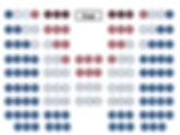 AFS 5 Star Seating Chart