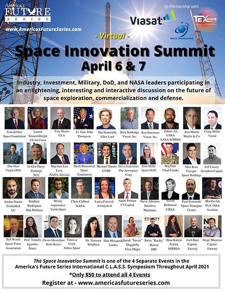 April 6 & & Space Innovation Summit Amer