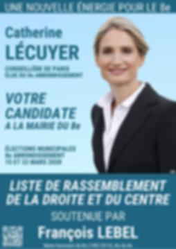 La lettre de candidature de Catherine LECUYER
