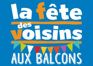 Vendredi 29 mai : la fête des voisins aux balcons