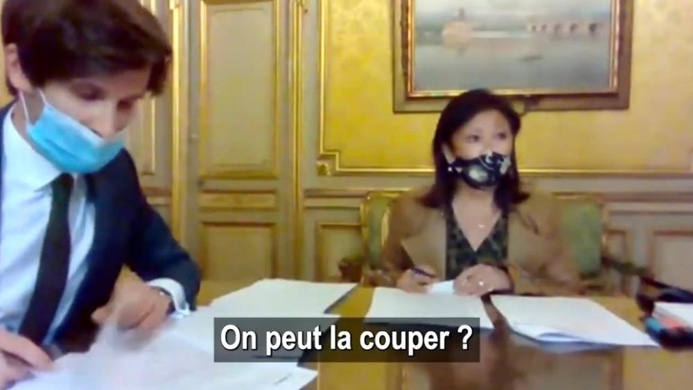 Une capture d'écran du Conseil d'arrondissement du 18 mai 2021