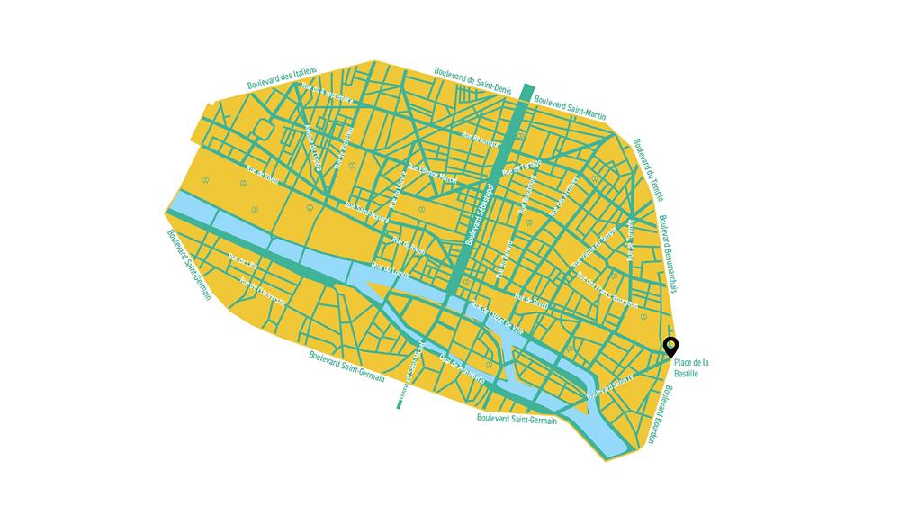 """Le projet de """"zone apaisée Paris Centre - Saint Germain"""""""