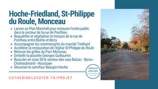 [Le projet / quartier] Hoche-Friedland, St-Philippe du Roule, Monceau