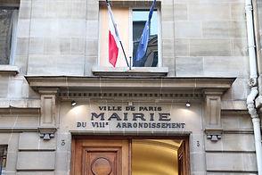 Façade de la Mairie du 8e arrondissement