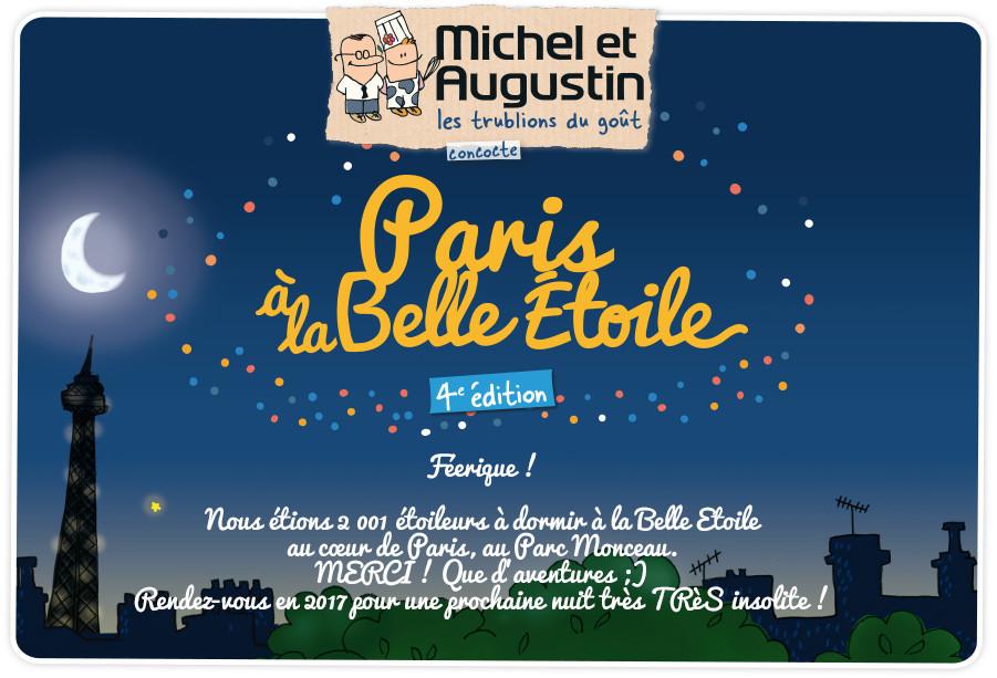 """Rétro publicité """"Paris à la belle Etoile"""""""