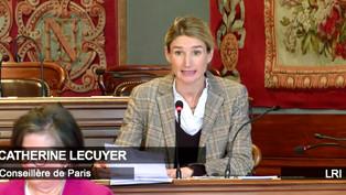 Sécurité rue de Ponthieu : ma nouvelle intervention en Conseil de Paris pour le groupe LRI