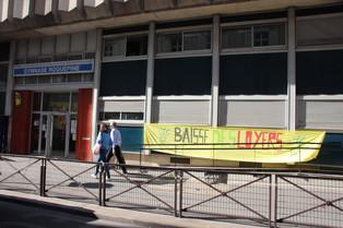 [Communiqué] C. LÉCUYER lance une pétition pour mettre un terme à l'occupation du gymnase Roquépine