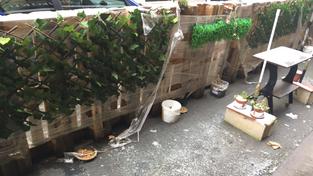 L'entretien des terrasses éphémères est dans l'intérêt de tous