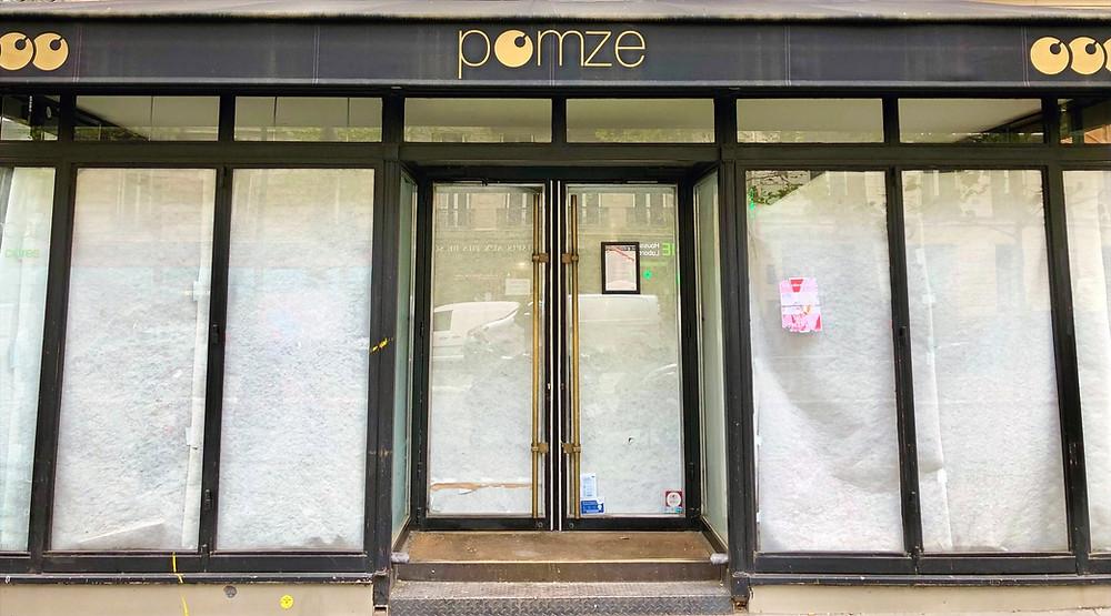 Le Pomze, définitivement fermé au 109 boulevard Haussmann