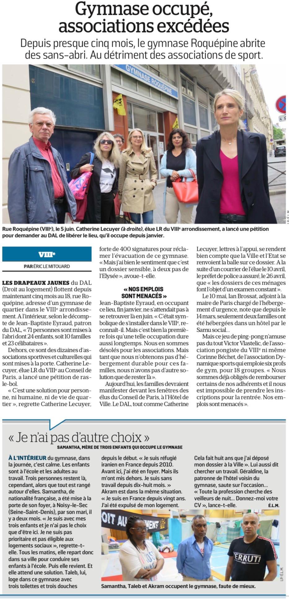 Le Parisien du 13 juin 2019