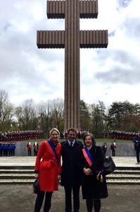Avec notamment ma collègue Sylvie CEYRAC et le président Christian JACOB