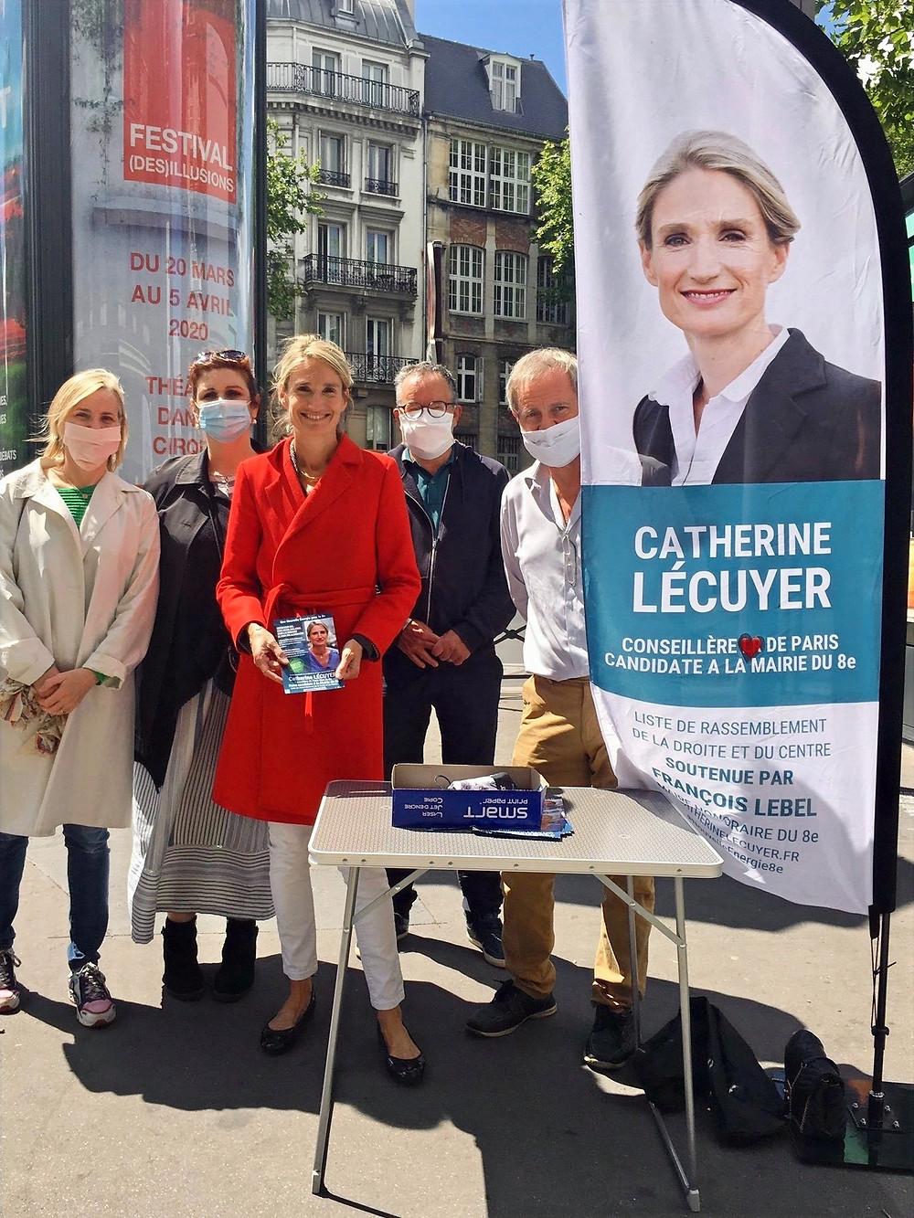 Avec notamment Stéphanie, Hélène, Rémy et Pierre