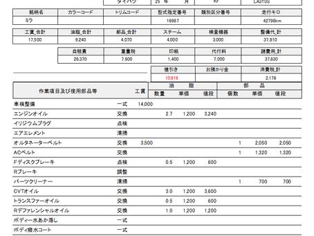 2月・3月車検の皆様!!