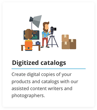 Create Digital catalogs in less than 5 minutes