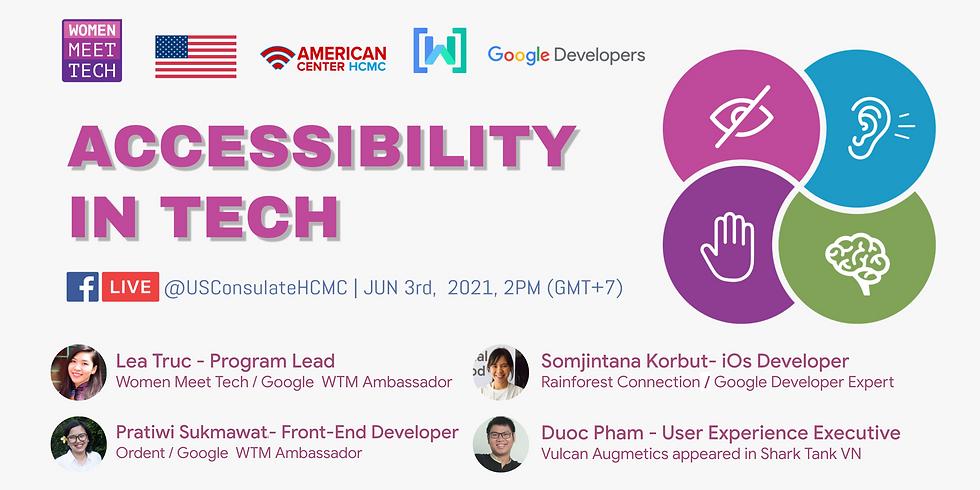 Webinar: Accessibility in Tech