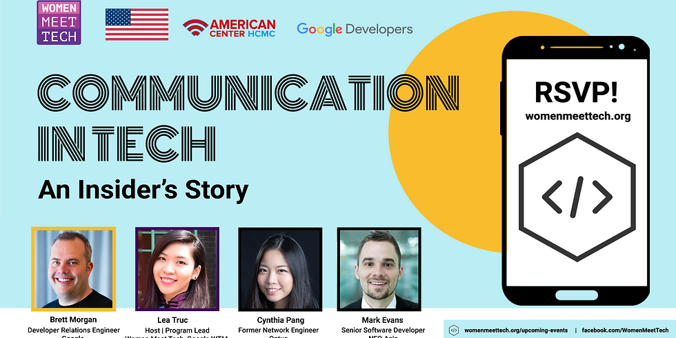 COMMUNICATION IN TECH at Google and more