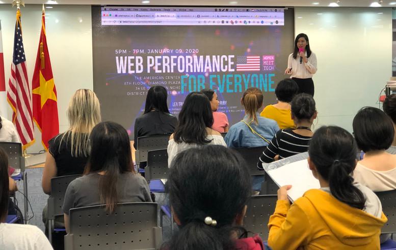 Women Meet Tech #8 at the American Center - U.S. Consulate HCMC
