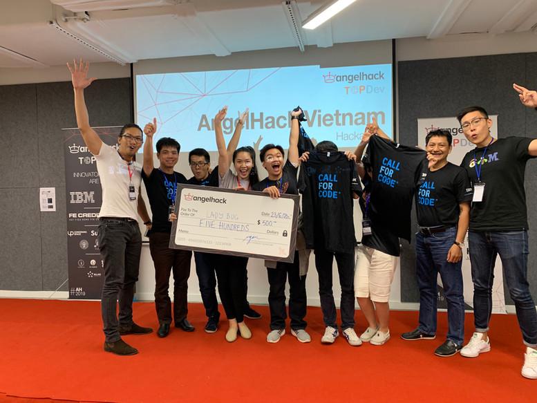Winning team - Hackathon