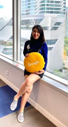at Google office
