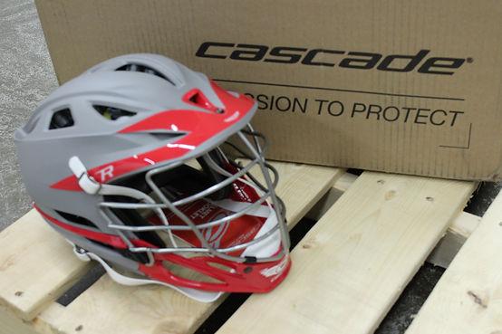 Cascade Custom helmet