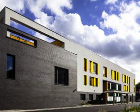 Beatrice Tate School façade