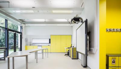 Beatrice Tate School classroom