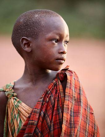 Maasai boy Arusha