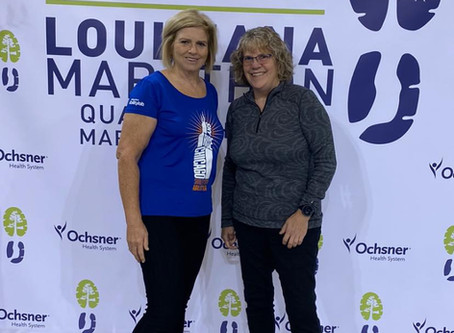 Louisiana Quarter Marathon was Awesome!