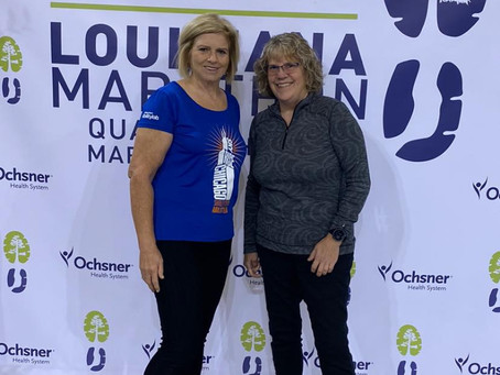 Louisiana Quarter Marathon was Awesome!