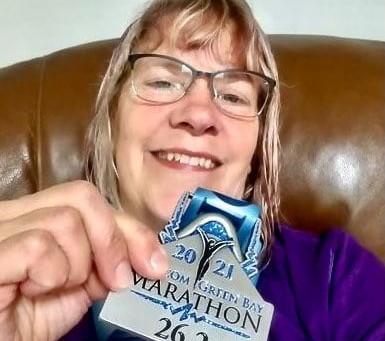 Virtual Greenbay Marathon - I Finished!