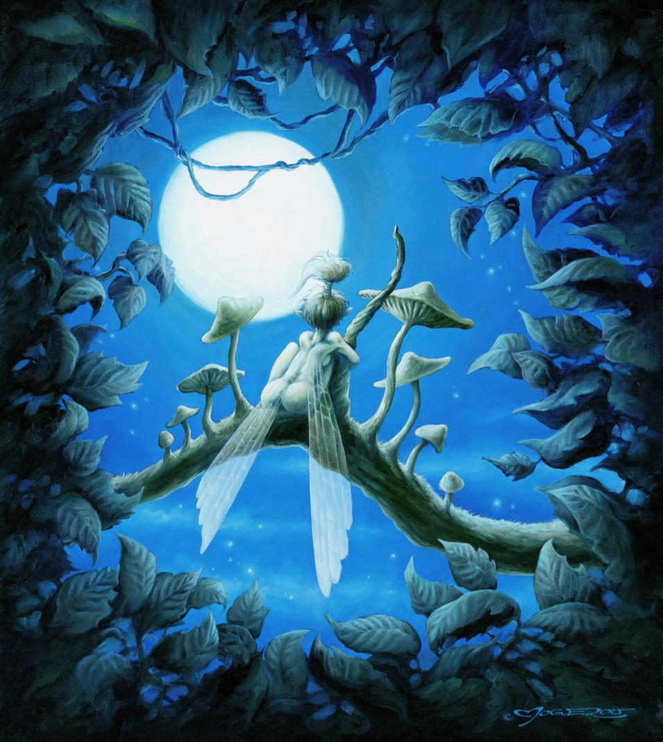 rêverie à la lune