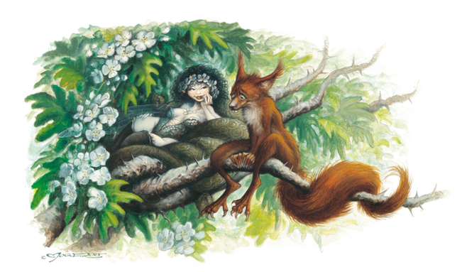 Squirrel in love