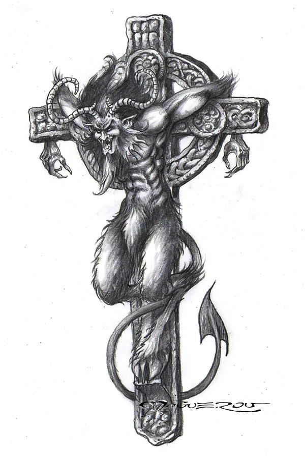 Diable en croix