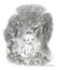 """""""Faery Baby"""" - commission privée pour un faire-part de naissance"""