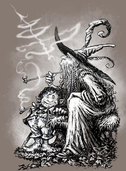 Gandalf & Bilbo