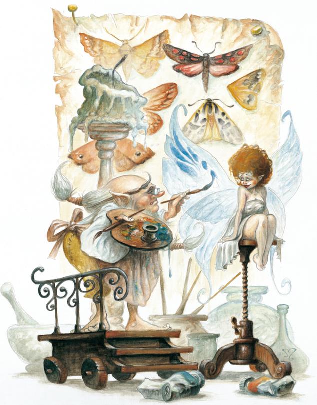 le peintre des ailes
