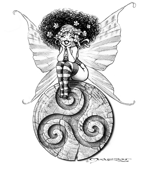 """""""Fée-breizh""""   projet-tattoo"""