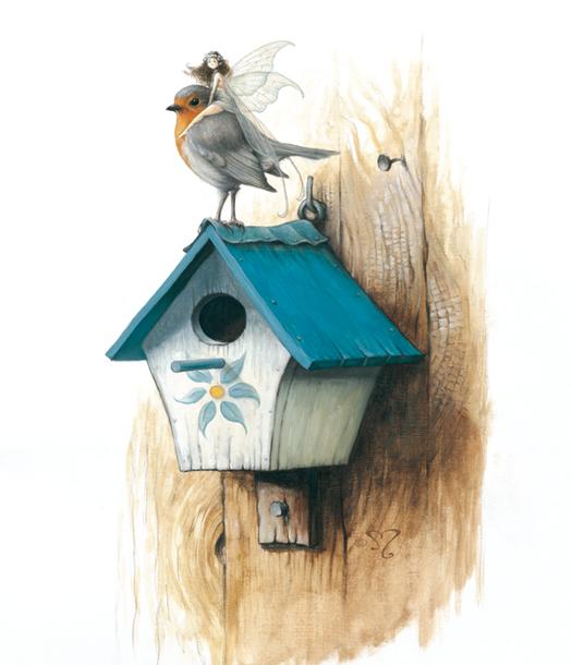 la cabane à oiseaux