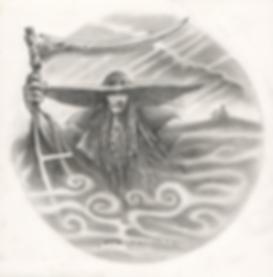 dessin de l'Ankou  projet tattoo