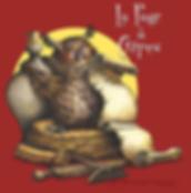 """""""La page à Crêpes"""" - logo pour une crêperie littéraire"""