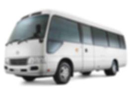 21-seat-Toyota-Coaster-on-White-Backgrou