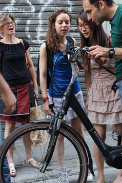 electric bike demonstration