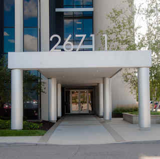 Office Building, Exterior Paint : Commercial Space, Southfield, Michigan