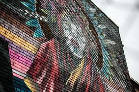 Mural, Graffiti, Marka27, Street Art, Best Murals Detroit, Paint, Detroit Free Press