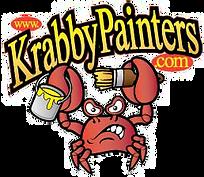 Crab, Paint, Paint Bucket, Logo, PNG, Krabby Painters
