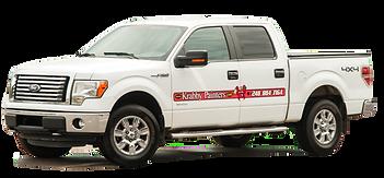 White Truck Ford F150 | Krabby Painters