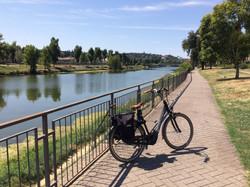 River Arno bike path